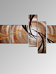 VISUAL STAR®5 Panel Modern Abstract Oil Painting Home Room Wall Decor Artwork Ready to Hang