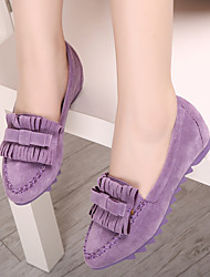 Women's Shoes Suede Flat Heel Moccasin / Pointed Toe / Closed Toe Flats Dress / Casual More Colors Available