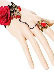 Women Cute / Casual Alloy / Fabric Bracelet / Ring Sets