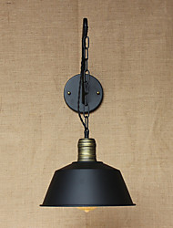 Simple And Creative Personality Wall Lamp Industry Chain American Retro Iron Aisle Bedroom Bedside Wall Lamp