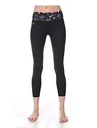 Yokaland Perfection Fit Slim Fit Yoga Capri With Print