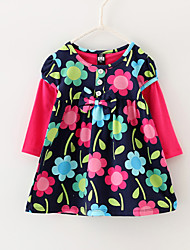 Girls Girls Dresses Flower Bow Sundress Party Birthday Baby Kids Clothing Dresses