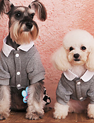Dog Dress / Clothes/Clothing Blue Spring/Fall Fashion