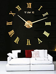 Reloj de pared - Acrílico/Metal/Acero inoxidable - Moderno/Contemporáneo/Casual/Oficina/ Negocios - Acrílico/Metal/Acero inoxidable