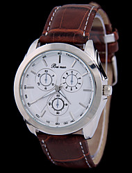 Women's  Fashion  Simplicity  Quartz  Leather Lady Watch