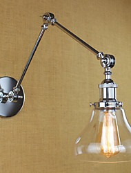 Chrome Glass Double Arm Adjustable Silver Bar KTV Bedside Aisle Restaurant Hotel Room wall