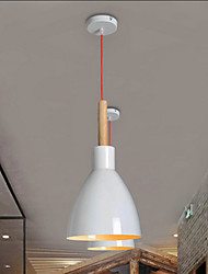 Country LED Painting Metal Pendant Lights Bedroom / Dining Room / Study Room/Office / Game Room / Hallway