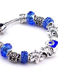 Bracelet Charmes pour Bracelets / Bracelets Vintage Alliage Soirée / Quotidien / Décontracté Bijoux Cadeau Bleu,1pc