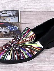 Sapatos Masculinos Mocassins Colorido Couro Casamento / Festas & Noite