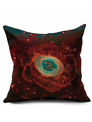 Milky Way of Stars Cotton/Linen Pillow Cover Nature Modern/Contemporary Pillow Linen Cushion