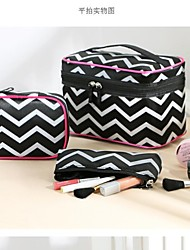 Set of 3 Fashion Portable Cosmetic Retro Pattern Makeup Hand Case Bag Makeup Cosmetic Pouch Bag Travel Bag Toiletry Kit