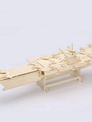 bois de porte-avions 3d puzzles jouets bricolage