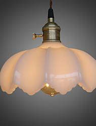 Max 60WNew Retro Lighting Bar Restaurant Lights Personality Living Room Clothing Store Glass Pendant Light