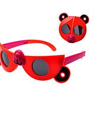 Kids Fashion Cute Cartoon Bear Foldable Sunglasses (Random Color)