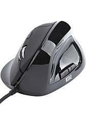 6 кнопок USB проводная эргономичная мышь с вертикальной точек на дюйм светодиодный индикатор и поддержки пальца