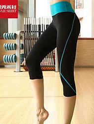 Mujer Carrera Prendas de abajo Yoga / Pilates / Fitness / Ciclismo / Running Transpirable / Secado rápido / Suave Negro OtrosRopa