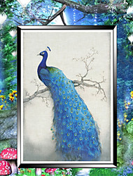 DIY Diamond Embroidery Mosaic Peacock Soul Round Diamond Painting Cross Stitch Kits rich flowers Home Decoration