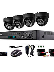 Liview® 900TVL Indoor Day Night Security Camera and 4CH HDMI 960H Network DVR System