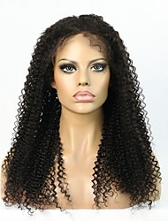 "In Stock 8""-24"" Human Hair Kinky Curly Glueless Lace Front Wig /Full Lace Wig For Women"
