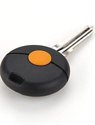 la clé bouton de la télécommande couverture de shell pour bmw - smart fortwo 450