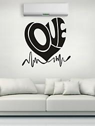 Romance / De moda Pegatinas de pared Calcomanías de Aviones para Pared,PVC S:27*28cm/ M:42*43cm/ L:55*56cm