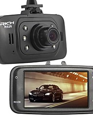 "Rich 2.7"" 120°Full Hd Car Auto Dash Camera Video Dvr Recorder"
