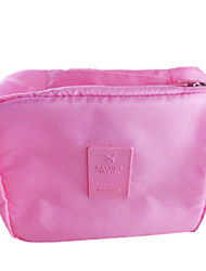Travel Inflated Mat / Toiletry Bag Travel Storage Fabric Grey / Blue / Red / Pink / Orange