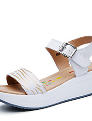 Women's Shoes Dress/Party & Evening/Office & Career Fashion Leather Sandals White/Bule/Yellow 35-40
