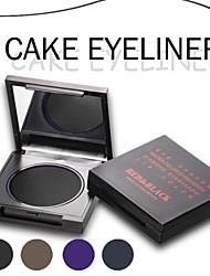 Eyeliner Crème Longue Durée / Etanches Noir / Marron / Violet / Bleu Yeux Rouge Noir