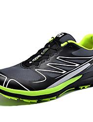 Men's Running Shoes Tulle Blue / Green / Orange