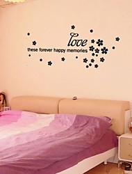 Bedroom Wall Stickers ,Large Size Word Love Wall Stickers Bedroom Decor , Bedroom Art Decal