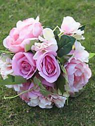 9 Branch/Bouquet Hydrangea  Peony Tie-In Simulation Bouquet Bride Wedding Flowers