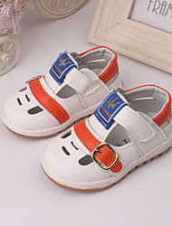 Baby Shoes Outdoor / Dress / Casual Leather Sandals Brown / Yellow / White