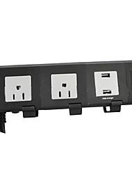 nous réglementaire usb multiple socket multifonctions bande de puissance intelligente de câblage