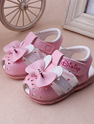 Girl's Sandals Spring Summer Leather Dress Casual Pink White Peach
