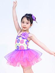 Vestidos(Morado,Poliéster / Lentejuela / Tul / Licra,Ballet / Danza Moderna / Desempeño) -Ballet / Danza Moderna / Desempeño- paraNiños