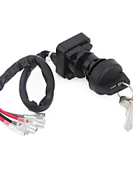 Ignition Key Switch Atv Double Keys For Polaris Trail Boss 250 1993-1995