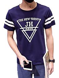 The New Summer Boys Cotton Short Sleeved T-shirt printing half sleeve T-shirt Korean youth leisure T-shirt tide