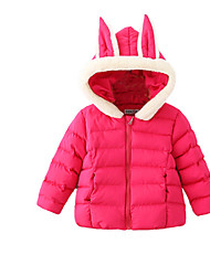 Girl's Pink / Red Jacket & Coat Cotton Winter