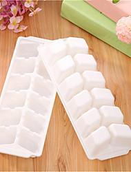 Plastic Parallelogram Shape Freeze Ice Cube Tray Kitchen Party Bar Ice Cream Multi DIY