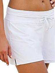 Ultraviolet Resinstant Bottom Swimming Trunk for Women Chinlon/Elastance Short