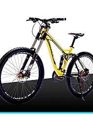 Mountain Bike Cycling 21 Speed 26 Inch/700CC 60mm Men's / Unisex EF51-8 Double Disc Brake Suspension ForkFull Suspension / Soft-tail
