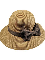 Newest Korea Bow Large Brimmed Hat