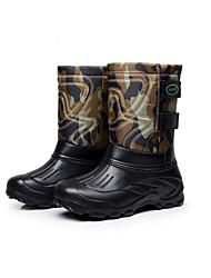 мужской внешней торговли дном не скользит водонепроницаемый снега сапоги плюс бархат свет рыболовные сапоги в пробке теплые ботинки