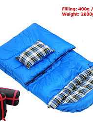 2KG Multifuntion Portable Outdoor Envelope Thick flannel waterproof fabric Sleeping Bag Travel Bag Hiking Camping
