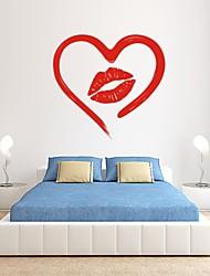 Romance / De moda Pegatinas de pared Calcomanías de Aviones para Pared,PVC S:27*30cm/ M:42*44cm/ L:55*58cm