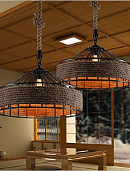 40 Chandelier ,  Country Others Feature for Designers Metal Living Room / Bedroom / Dining Room / Study Room/Office