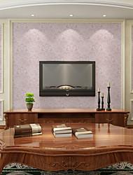 Floral Papel pintado Contemporáneo Revestimiento de pared,PVC/Vinilo Sí