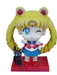 Sailor Moon Andere 8CM Anime Action-Figuren Modell Spielzeug Puppe Spielzeug