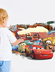 Cartoon Design / Fantasie / 3D Wand-Sticker 3D Wand Sticker,PVC 50*70 cm (19.7*27.5 inch)